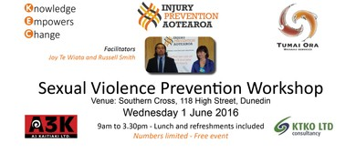 Sexual Violence Prevention Workshop: SOLD OUT