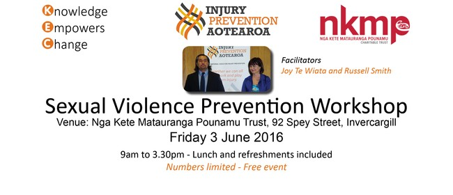 Sexual Violence Prevention Workshop