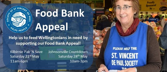 Food Bank Drive for St Vincent De Paul Society