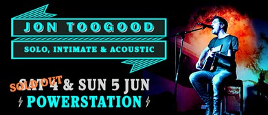 Jon Toogood - Solo, Intimate & Acoustic