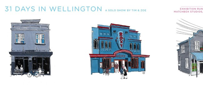 31 Days In Wellington Album and Exhibition Launch