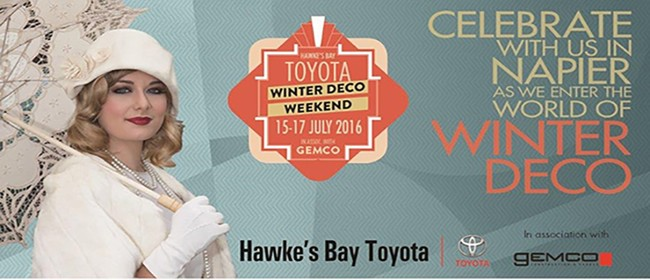 Art Deco Highlights Vintage Car Tour - HB Toyota Winter Deco