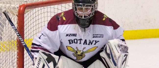 Ice Hockey - Botany Swarm vs Canterbury Red Devils