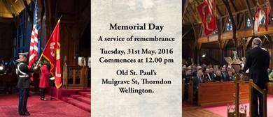 New Zealand-American Association Memorial Day Commemoration