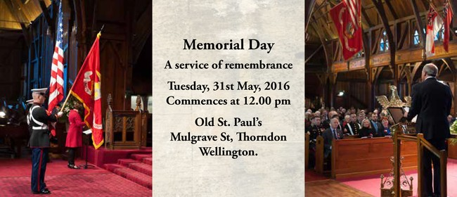 New Zealand-American Association Memorial Day Commemoration