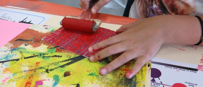 Painterly Printmaking With Toni Mosely