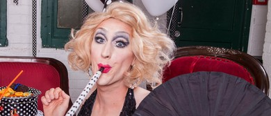 Dr. Sketchy Auckland: Vintage Showgirl With Anita Wigl'it