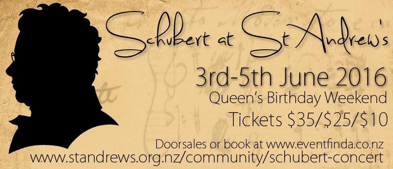 Schubert at St Andrew's