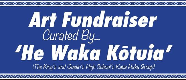 The He Waka Kōtuia - Art Exhibition & Auction Fundraiser