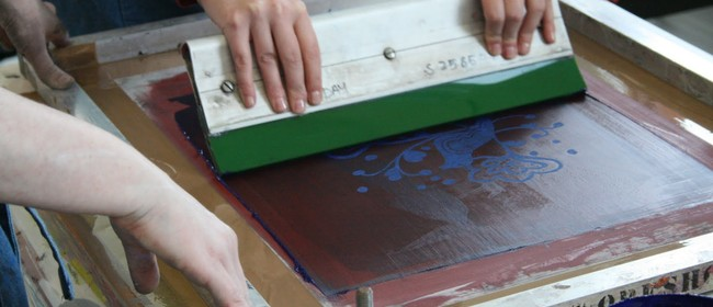 Screen Printing Weekend Workshop With Toni Mosely