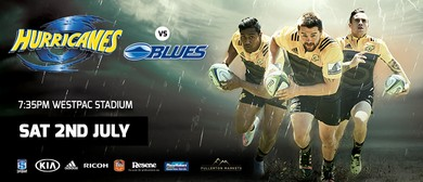 Super Rugby: Hurricanes vs Blues