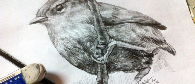 Studio One Toi Tū / Flora and Fauna: Drawing Realistic