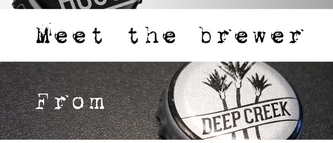 Meet the Brewer with Deep Creek Brew Co