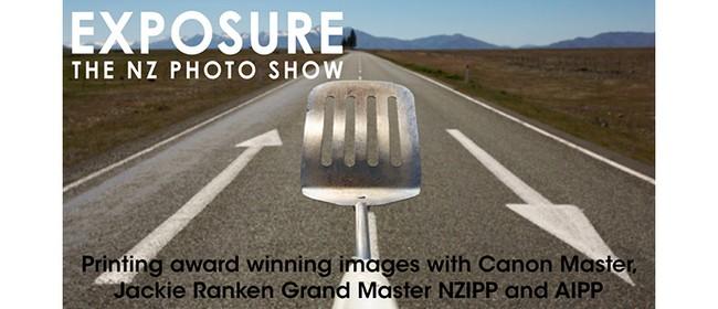 Printing award winning images w. Canon Master, Jackie Ranken