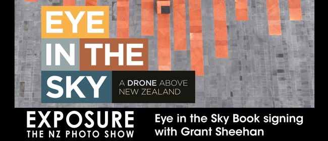 Eye in the Sky Book signing with Grant Sheehan