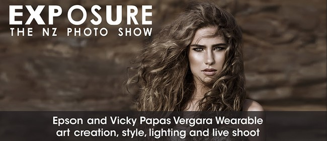 Epson and Vicky Papas Vergara Wearable Art Photoshoot
