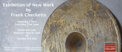 New Ceramic Work By Frank Checketts