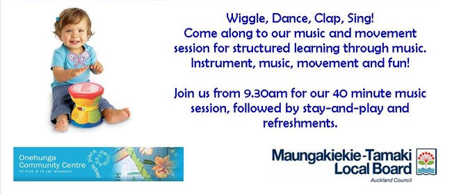 Active Music & Movement for Under 5's