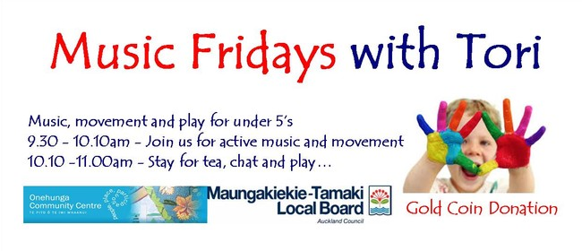 Friday Kids Club - Music & Movement Session for Under 5's