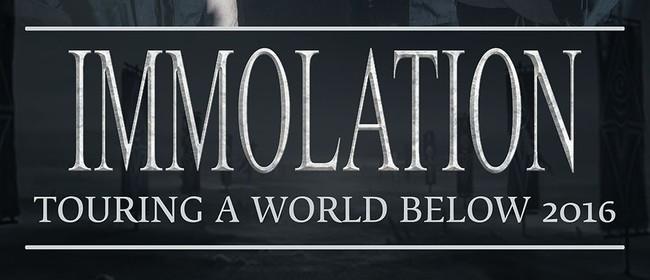 Immolation - Touring a World Below
