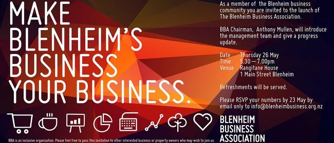 Make Blenheim's Business Your Business
