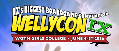 Wellycon - New Zealand's Biggest Boardgame Convention