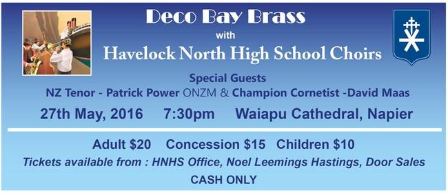 Deco Bay Brass & Havelock North High School Choirs