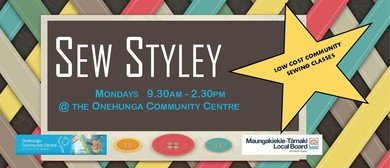 Sew Styley - Sewing Classes