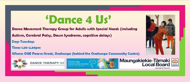Dance 4 Us - Dance Movement Therapy Group Session