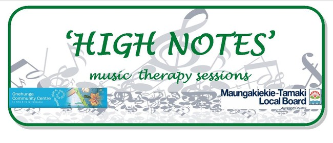 High Notes - Music Therapy Session