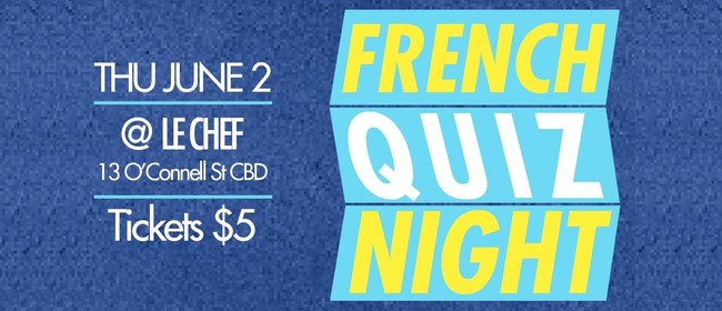 French Quiz Night - Music Edition