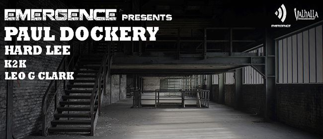 Emergence Presents: Paul Dockery