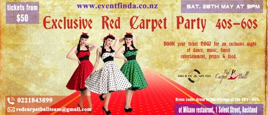 Exclusive Red Carpet Event 1940s-60s