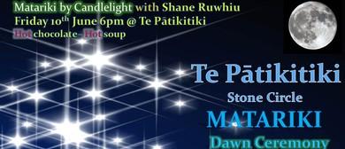 Matariki By Candlelight With Shane Ruwhiu