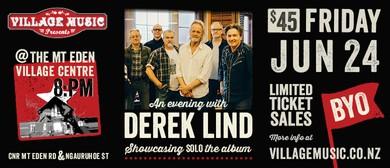 An Evening With Derek Lind & Band