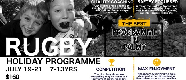 July Rugby Holiday Programme