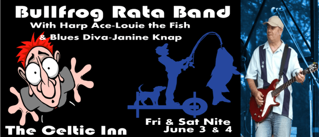 Bullfrog Rata Band With Louie the Fish and Janine Knap