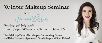 Winter Makeup Seminar - Janet Rowe Makeup Artist: SOLD OUT