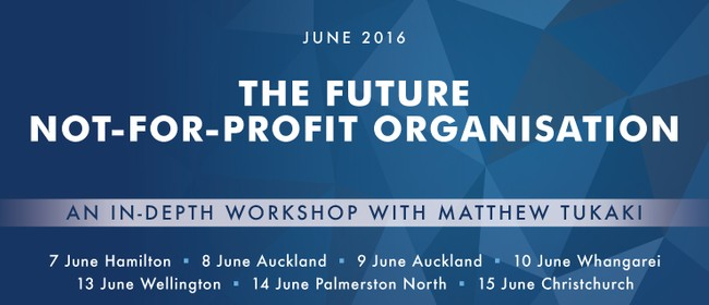 The Future Not-for-Profit Organisation Workshop
