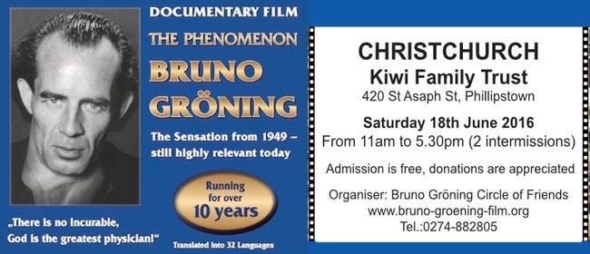 Documentary Film the Phenomenon Bruno Groening