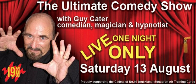 The Ultimate Comedy Show With Guy Cater