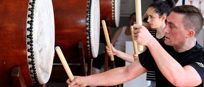 Learn Japanese Taiko Drumming - Open Day