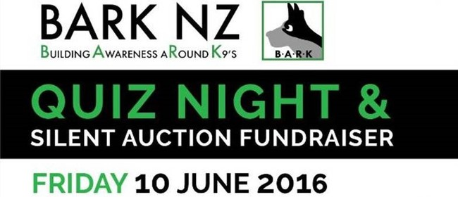 BARK NZ Quiz Night & Silent Auction Fundraiser