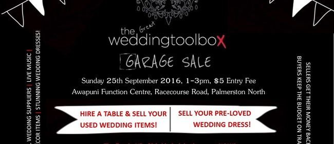The Great Weddingtoolbox Garage Sale
