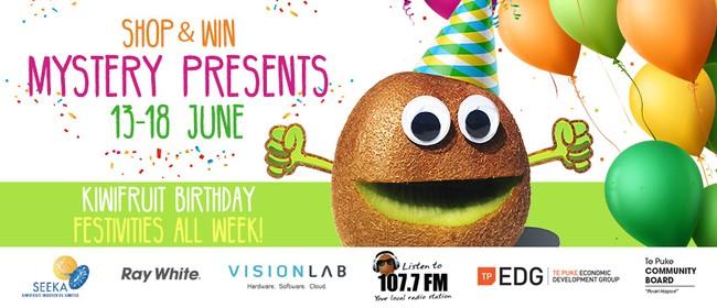 Kiwifruits Birthday Week Festivities