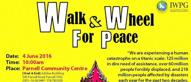 Parnell Peace Walk and Wheel