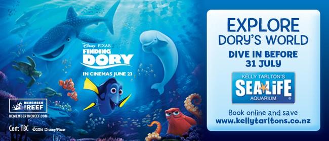 Disney-Pixar's Finding Dory Splashes Into Kelly Tarlton's
