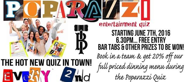 Poparazzi Entertainment Quiz Night