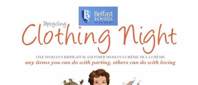 Belfast School Upcycling Clothing Night