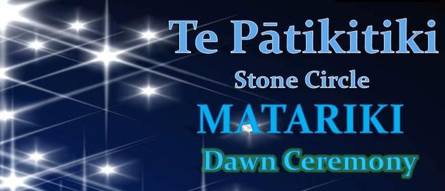 Te Pātikitiki Stone Circle Matariki Dawn Ceremony